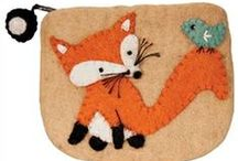 Baby Trend: Fox / Little woodland animals are popping up everywhere! Our favorite is the little orange fox, found on clothes, blankets and toys!