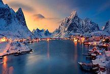 World | Northern Europe / Denmark (+ Greenland), Estonia, Finland, Iceland, Latvia, Lithuania, Norway, Sweden / by Kimo&Henele