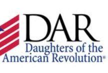 ~DAR~ / Daughters of the American Revolution
