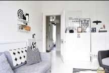 black + white life