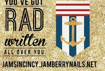 Jamberry Nails / Everything Jamberry, ideas from other companies to adapt & some general information about direct sales.  Disclaimer: I try to modify descriptions of all pins related to Jamberry to reflect my opinions and how I run my parties. Occasionally things slip through. So if incentives are promised, PLEASE contact me directly to make sure the promotion is still active. JamsInCincy@fuse.net  This board is my personal idea collection and is not endorsed, moderated or directly related to Jamberry Nails