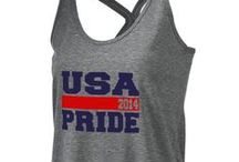 USA Gear for 4th of July / Show your USA pride in a cute and stylish way with customized USA gear!  / by Prep Sportswear