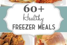 Freezer meals / by Cindy Myers