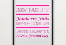 Fabulous Fall Nails with JamsInCincy / JamsInCincy.jamberry.com