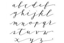 Tutorials — Calligraphy / Calligraphy Tutorials & Alphabets