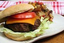 Burgers / Burgers, burgers, burgers...