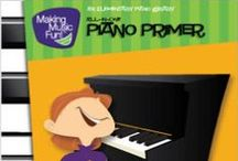 Free Sheet Music for Piano / Free Printable Sheet Music and Books for Beginner-Intermediate Piano Solo and Duet / by MakingMusicFun.net
