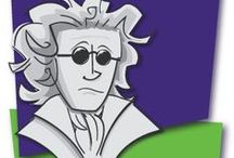 Great Music Composers / Learn about our Great Music Composers with Biographies, Free Printable Worksheets, Coloring Pages and Listening Maps. / by MakingMusicFun.net