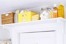 Organizing Hacks/Cleaning Tips and Tricks / Get your house in order! Organizing hacks, cleaning tips, and tricks.