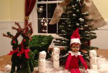 Elf on the Shelf ideas / by Rebecca Weslowski