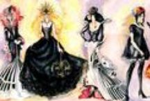 Fashion As Art / #fashion #couture #art  / by J Shatswell