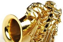 Free Sheet Music for Alto Saxophone / Free Printable Sheet Music for Beginner-Intermediate Alto Saxophone Solo / by MakingMusicFun.net