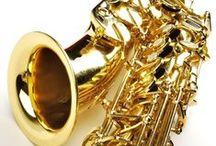 Free Sheet Music for Alto Saxophone / Free Printable Sheet Music for Beginner-Intermediate Alto Saxophone Solo / by MakingMusicFun.net