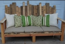 Upcycle Pallets / by Maren Nelson