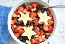 Patriotic Recipes, Crafts, and More! / Celebrate the USA with all things red, white, and blue! Patriotic recipes, patriotic crafts, fashion, and more!