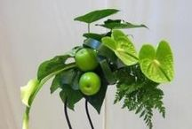 Exotic Tropical Arrangements / Exotic Arrangements Created with Tropical Flowers and Lush Greenery by Norfolk Florist Custom Designers. http://www.norfolkflorist.com/flowers/exotic-tropical-flowers-virginia-beach-va/