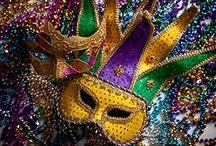 LA. Mardi Gras and NOLA love / A board dedicated to Mardi Gras and New Orleans, LA. / by Juanita Shaffer