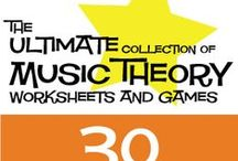 Music Theory for Kids / Free Printable Music Theory Resources and Ideas for Kids | MakingMusicFun.net / by MakingMusicFun.net
