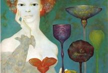 Art of Leonor Fini / Leonor Fini (August 30, 1907 – January 18, 1996) was an Argentine surrealist painter. Talented, glamorous and ambitious, Leonor Fini was one of the most influential female artists of the 1930s. From her opulent, bohemian childhood in Italy to her debut in a group exhibition at the age of seventeen and her rise in the international art world, Fini was legendary for both her vivacious personality and her ethereal subjects.