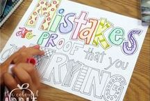 C()L()R M3 H@PPY / Coloring pages for my kids and me!! / by Autumn Excell