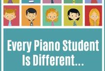 Piano Lessons / Ideas for Teachers and Parents on How to Make Piano Lessons Special for Years to Come. / by MakingMusicFun.net