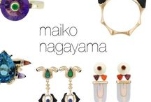 MAIKO NAGAYAMA JEWELLERY / Every single pieces from MAIKO NAGAYAMA haute couture Jewellery collections are One-of-a-kind pieces. Pret-a-Porter collections are ideal for everyday wear and gifts for loved ones