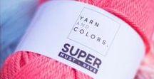 Yarn and Colors Super Must-have / Wat krijg je als je de Must-have twee keer zo dik maakt? Nou dan krijg je de Super Must-have. Een lekker dik gemerceriseerd katoen.
