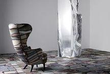 Industrial Landscape by Tom Dixon / Tom Dixon suunnitteli Egelle ensimmäisen mattomallistonsa. Industrial Landscape on saanut inspiraationsa englantilaisen teollisuuden perinteistä ja innovaatioista. Mallistossa on sekä tekstiilimattoja että tekstiilimattolaattoja.