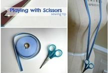 Sewing: Hints and Tips / Great hints, tips, and tricks to make sewing easier and better / by Hey, Let's Make Stuff {Cori George}