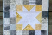 Quilting: Mini Quilts / Fun little quilts -- great for instant gratification! / by Hey, Let's Make Stuff {Cori George}