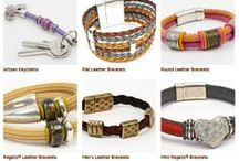 Holiday Gift Guide / Regaliz & Euro Leather Bracelets will be THE hottest jewelry gifts of this holiday season for all genders & ages!