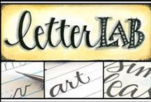 Caligraphy & Handwritten Letters / . / by Christine Campbell
