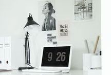 Home: Office / Inspiring pins for the makeover of our home office.  / by Hey, Let's Make Stuff {Cori George}