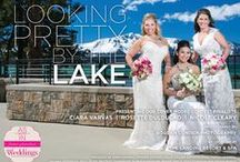 """Looking Pretty by the Lake {The Layout}-Real Weddings Magazine / From the """"Looking Pretty by the Lake"""" Cover Model Contest feature in the Summer/Fall 2014 issue of Real Weddings Magazine, Photography by Bogdan Condor Photography, www.BogdanCondor.com © Real Weddings Magazine, www.realweddingsmag.com; for a complete list of vendors along with more photos from this shoot, visit: http://www.realweddingsmag.com/looking-pretty-by-the-lake-the-layout"""