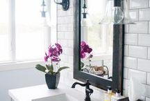 Living spaces- Bathrooms / by Lemonade Makin Mama