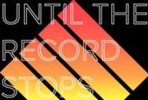 Until The Record Stops / Small Space living experts, who know a thing or two about good music.