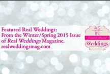 Featured Real Weddings: From the Winter/Spring 2015 Issue of Real Weddings Magazine / In the just released Winter/Spring 2015 issue of Real Weddings Magazine, we feature 34 gorgeous and inspiring real weddings from Sacramento to the Sierra! And we're pleased to give you a sneak peek of each one here in this Pinterest Board! Come to our website to see the weddings in full, read the couples' love stories along with the full list of their wedding dream team vendors: www.realweddingsmag.com
