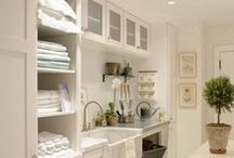 Living spaces- laundry rooms / by Lemonade Makin Mama