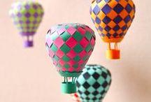 Воздушная мечта! / Альтер-скрап. Рукотворные макеты воздушных шаров, дирижаблей, аэростатов.