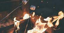 // Bonfires.