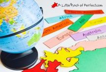 Geography / Geography related activities to do with kids