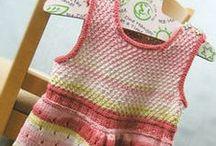 Knitting: For Babies & Kids / Knitting patterns for baby, baby sweater knitting patterns, knitting patterns for kids, childrens knitting patterns / by NobleKnits