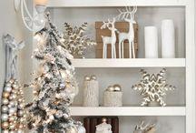 Christmas decor / by Tiffany Walker