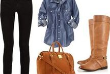 Get in my closet. / clothes: fashions//styles I like. / by Tabitha Richmond