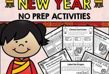 Chinese New Year / Chinese New Year lesson ideas and activities that can be used by parents and teachers with their kids and students.