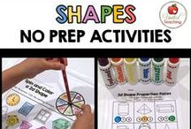 Math: Shapes / Shapes and Geometry ideas, lessons and resources for teachers and homeschoolers.