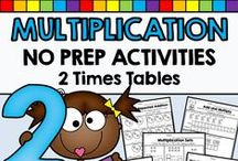 Math: Multiplication / Multiplication math activities, resources and ideas for teachers and homeschoolers.