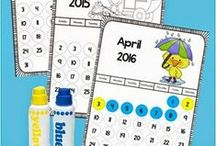 Math: Calendar / Activities and Lesson Ideas for using the calendar with children to teach math and other concepts.