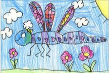 Guided Drawing Resources / Guided and directed drawing resources and lessons for teachers and parents to use with kids and students.