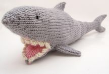 Shark Week Knitting / Shark week knitting projects and ideas. Knit sharks for everyone in the family! / by NobleKnits